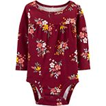 Baby Girl Carter's Floral Collectible Bodysuit
