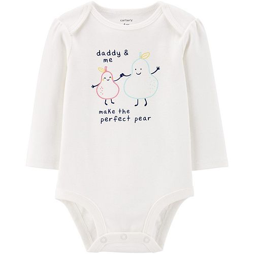 Baby Girl Carter's Daddy & Me Collectible Bodysuit