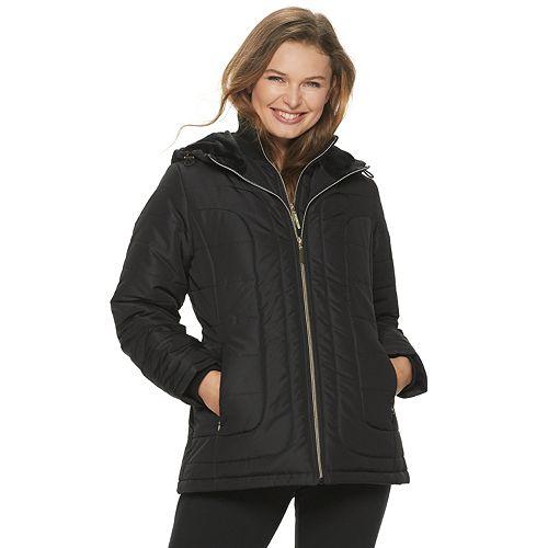 Women's d.e.t.a.i.l.s Hooded Heavyweight Jacket