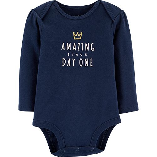 Baby Girl Carter's Amazing Since Day One Collectible Bodysuit