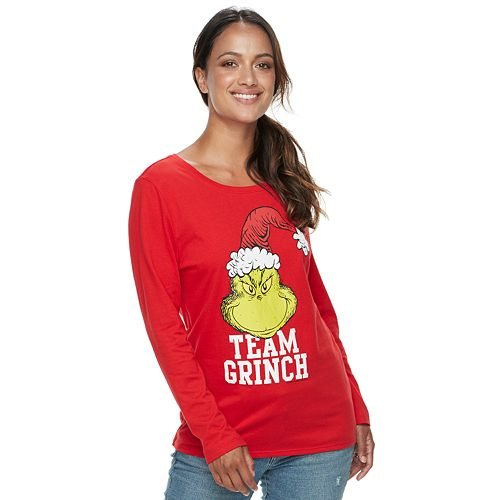 Women's Family Fun™ The Grinch Christmas Graphic Tee