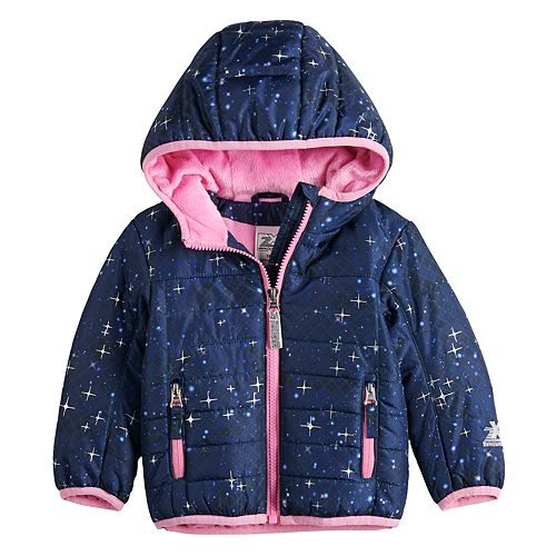Baby Girl ZeroXposur Hooded Puffer Jacket