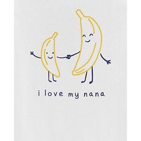 Baby Boy Carter's Banana Nana Collectible Bodysuit