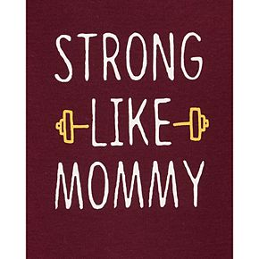 Baby Boy Carter's Strong Like Mommy Collectible Bodysuit