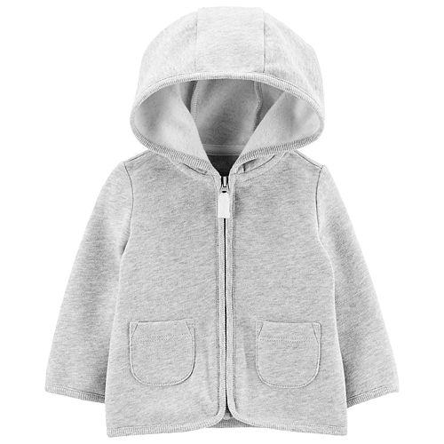 Baby Boy Carter's Zip-Up Fleece-Lined Cardigan