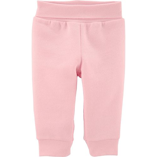 Baby Girl Carter's Pull-On Fleece-Lined Pants