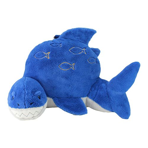 Animal Adventure Soft Landing Nesting Nook Shark Character Backrest