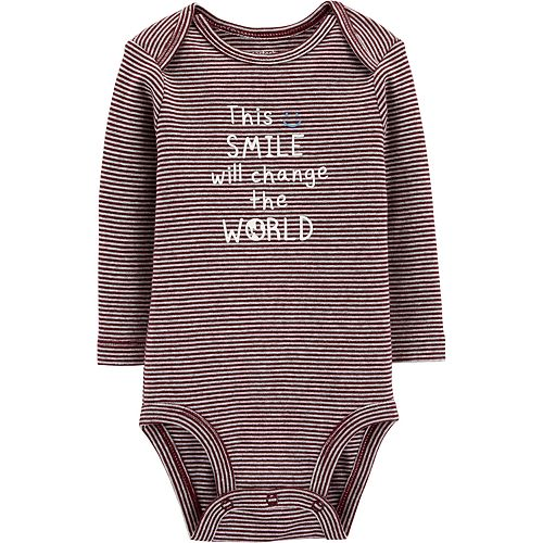 Baby Boy Carter's Change The World Collectible Bodysuit