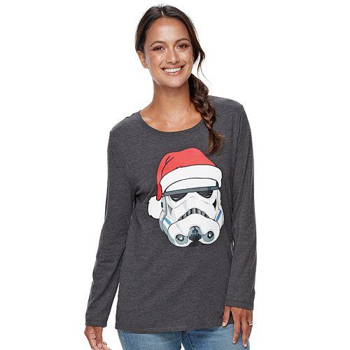 Women's Family Fun™ Star Wars Stormtrooper Christmas Graphic Tee