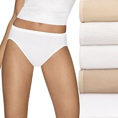 0106ce5cebd0 Hanes Ultimate 5-pk. Ultra Soft Cotton Comfort Hi-Cut Briefs 43HUCC