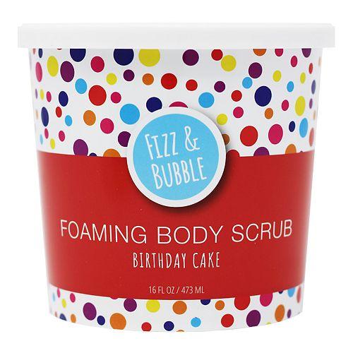 Fizz & Bubble Birthday Cake Foaming Body Scrub