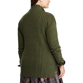 Plus Size Chaps® Long Sleeve Sweater