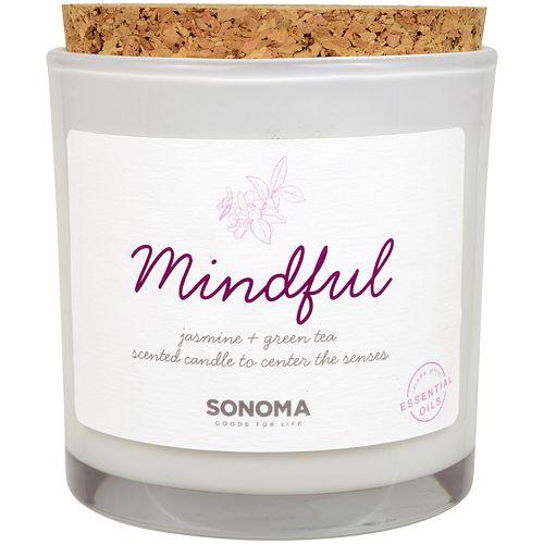 SONOMA Goods for Life™ SPA Mindful Jasmine & Green Tea 13-oz. Candle Jar