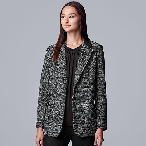 Women's Simply Vera Vera Wang Knit Blazer