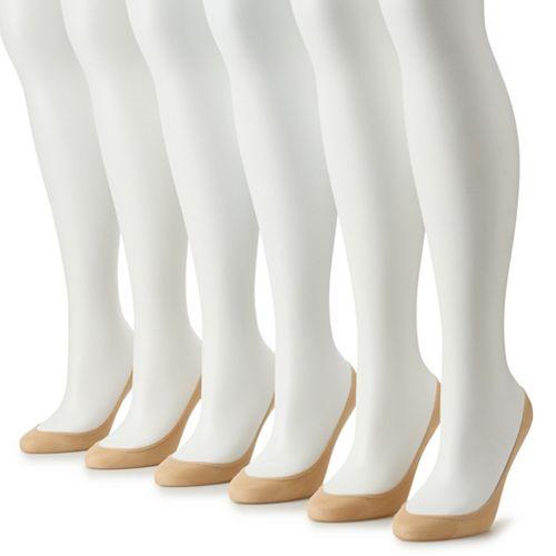 Women's Apt. 9® 6-Pack Extra-Low Cut Socks