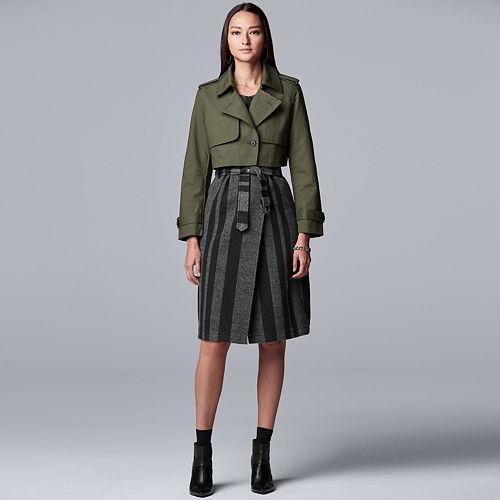 Women's Simply Vera Vera Wang Wear 3-Ways Jacket