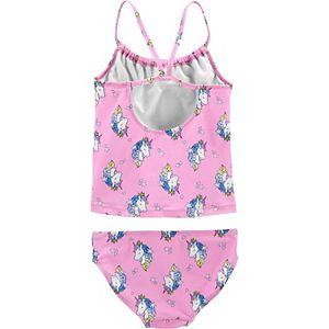 Girls 4-14 Oshkosh B'gosh® Unicorn Tankini and Bottoms Swimsuit Set