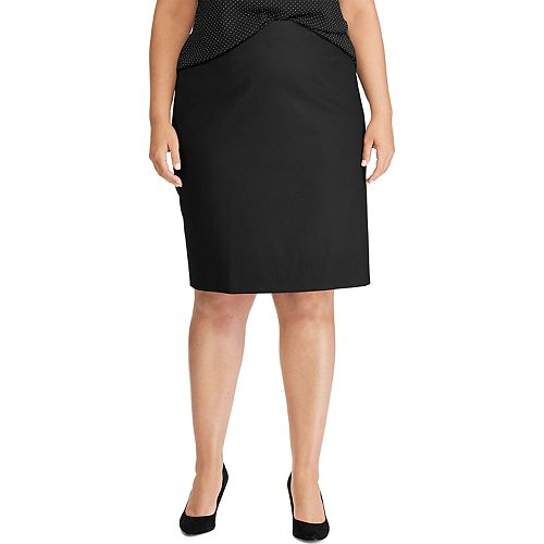 Plus Size Chaps Weekday Ready Skirt