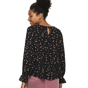 Women's POPSUGAR Tiered-Sleeve Top