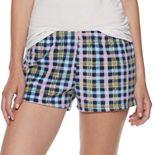 Juniors' SO® Microfleece Pajama Shorts