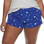 Juniors' Plus SO® Microfleece Pajama Shorts
