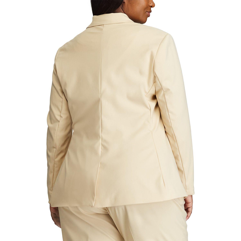 Plus Size Chaps Blazer Jacket