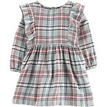 Baby Girl Carter's Plaid Twill Dress