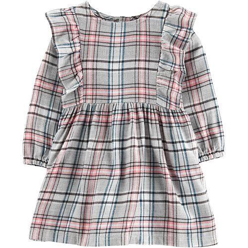 Baby Girl Carter's Plaid Twill Dress