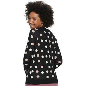 Women's POPSUGAR Jacquard Slim Sweater