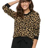 Women's POPSUGAR Jacquard Slim Sweater