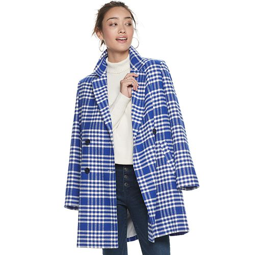 Women's POPSUGAR Double Breasted Coat
