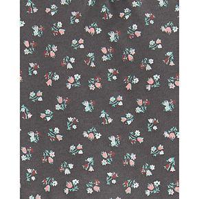 Baby Girl Carter's 2-Piece Floral Peplum Bodysuits Pant Set