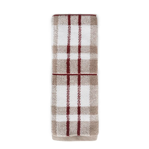 Sonoma Goods For Life Holiday Plaid Hand Towel