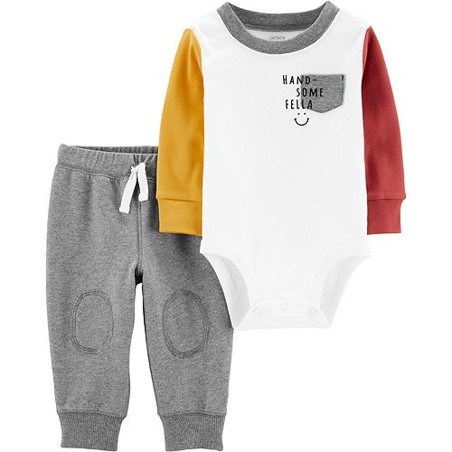 Baby Boy Carter's 2-Piece Bodysuit Pants Set