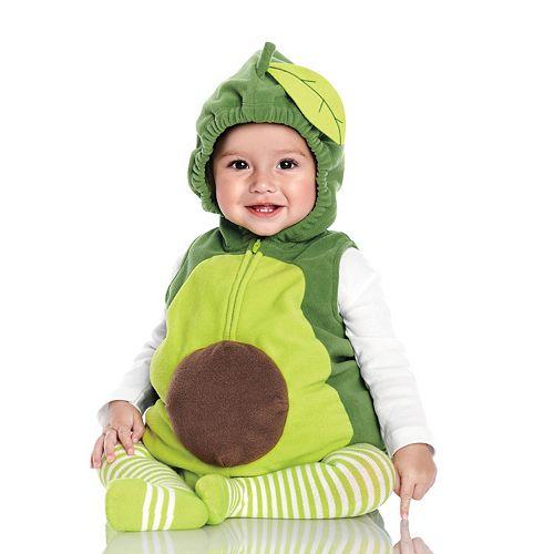 Baby Carter's Little Avocado Halloween Costume