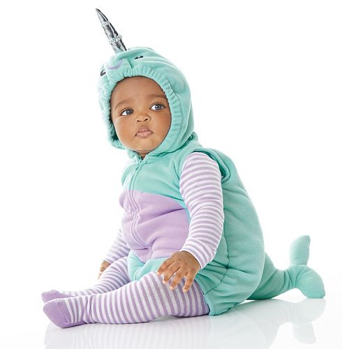 Baby Girl Carter's Little Narwhal Halloween Costume