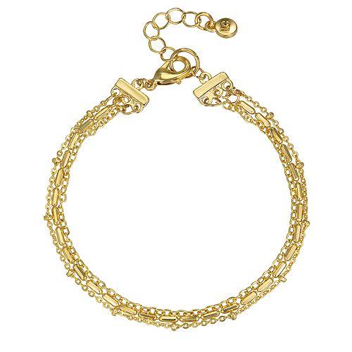LC Lauren Conrad Chain Multi Strand Bracelet