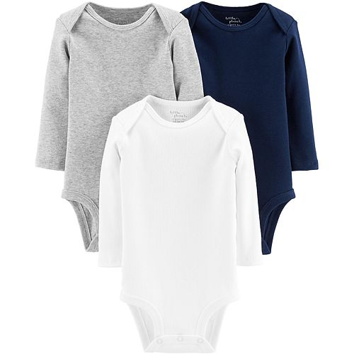 Baby Boy Carter's 3-Pack Organic Bodysuits