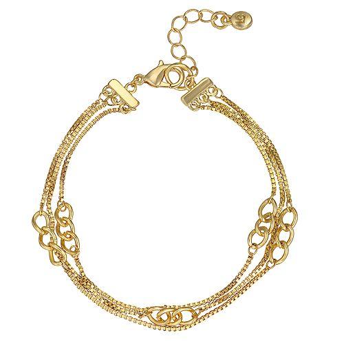 LC Lauren Conrad Chain Link Bracelet