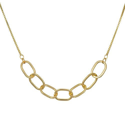 LC Lauren Conrad Oval Link Necklace