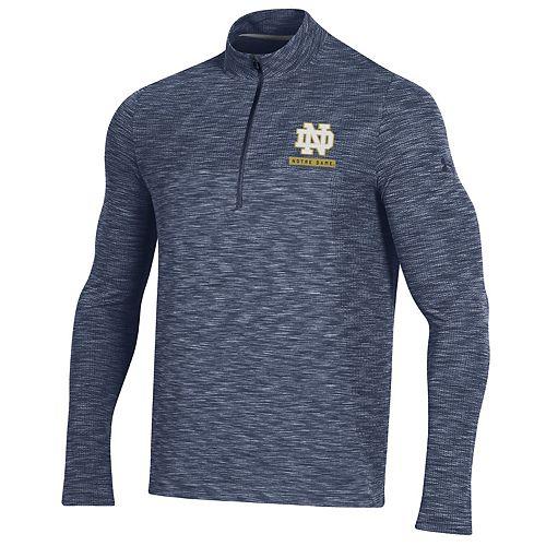 Men's NCAA Notre Dame Fighting Irish Vanish Seamless 1/4 Zip
