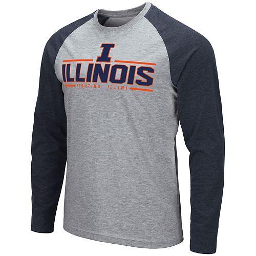Men's NCAA Illinois Fighting Illini Weisshorn Long Sleeve Tee