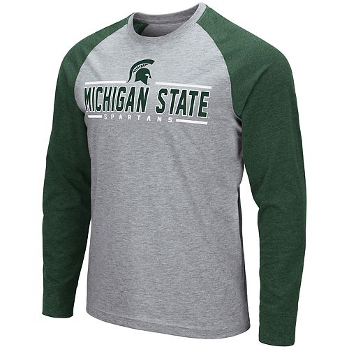 Men's NCAA Weisshorn Michigan State Long Sleeve Tee