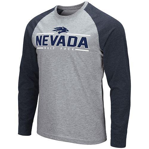 Men's NCAA Weisshorn Nevada Long Sleeve Tee