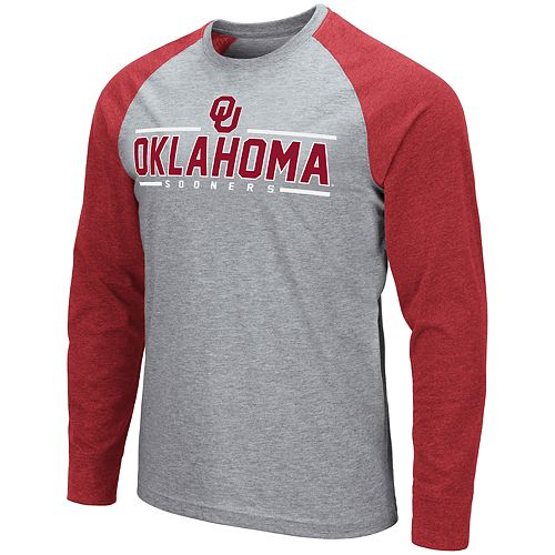 Men's NCAA Weisshorn Oklahoma Long Sleeve Tee