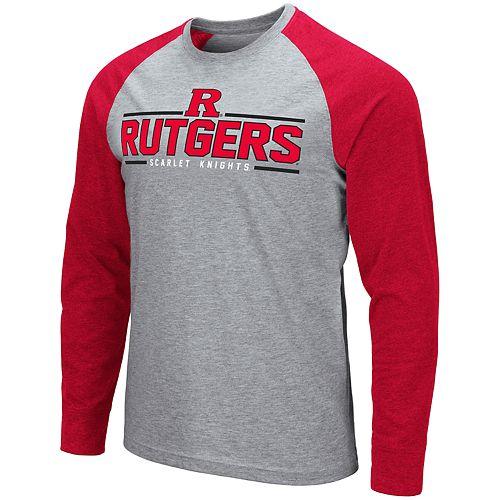 Men's NCAA Rutgers Scarlet Knights Weisshorn Long Sleeve Tee