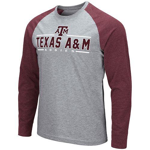 Men's NCAA Texas A&M Aggies Weisshorn Long Sleeve Tee