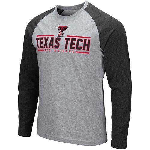 Men's NCAA Texas Tech Red Raiders Weisshorn Long Sleeve Tee