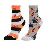 Girls SO® 2-pack Crew Halloween Socks