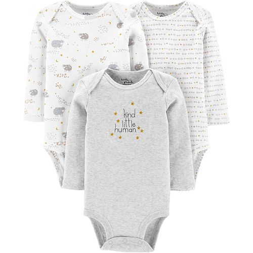 Baby Neutral Carter's 3-Pack Organic Original Bodysuits